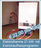 Elektrotherme 21 kW