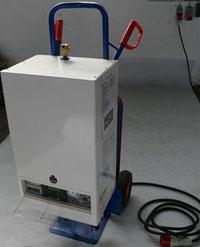 Elektrotherme 22 kW mit Aufheizprogramm für FBH nach DIN