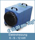 Elektroheizung 12 kW