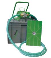 Vermietung Flachsauger für Wasser und Schlamm mit 2 Flachsaugmatten